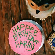 """Pin for Later: Say """"Espresso Patronum"""" (or Butterbeer!) at This Magical Harry Potter Cafe The cafe even celebrated Harry's birthday with a familiar cake . . ."""