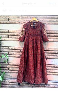 Kurti Designs Party Wear, Kurta Designs, Blouse Designs, Pakistani Dresses, Indian Dresses, Indian Outfits, Women's Ethnic Fashion, India Fashion, Simple Dresses