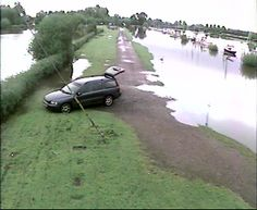 Tewkesbury Sailing Club Large Screen Live Webcam 2, Flooded 26 September 2012