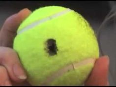 How To Unlock a car door with a tennis ball - YouTube