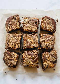 Vegan peanut butter chocolate tray bake - She Can't Eat What