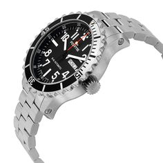 Fortis Marinemaster Automatic Black Dial Stainless Steel Men's Watch FOR6701741M - Fortis - Shop Watches by Brand - Jomashop