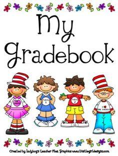 Ladybug's Teacher Files: Gradebook Printables