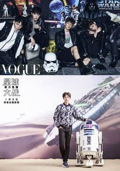 EXO and Luhan's 'Star Wars' promotions gets international attention