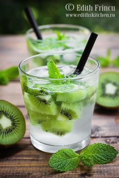 Kiwi, Edith's Kitchen, Fresco, Green Smoothie Cleanse, Beverages, Drinks, Frappe, Bartender, Panna Cotta