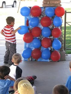 This would b a fun way to do prizes! Put a Treat bag number in the balloon and let them pick thier prize!