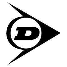 Pegatinas: Logo flecha Dunlop
