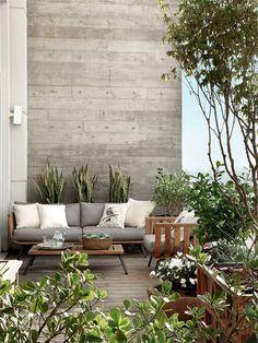 Balkon icin - renkler, koltuk, yesillik