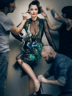 Gucci dress / photographer Signe Vilstrup
