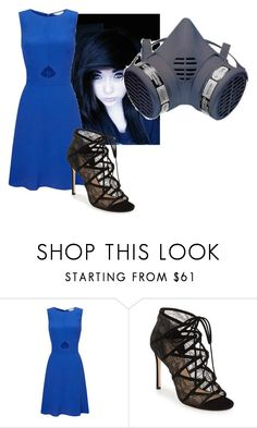 """""""Ladyintheshadows formal"""" by creepypasta0c ❤ liked on Polyvore featuring Miss Selfridge and Pour La Victoire"""