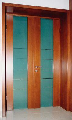 kétszárnyú minimal beltéri ajtó