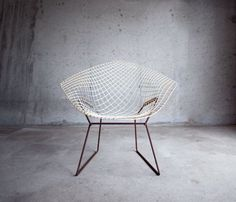 Harry Bertoia Diamond chair: Sit, Interior, Diamonds, Chairs Stools Lounging Seating, Object, Furniture, Design