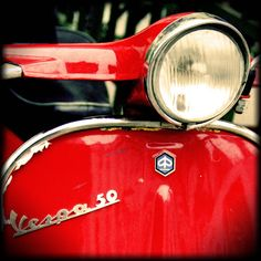 Red Vespa - Fun Red Things - Because we love red... at Online Marketing Success Group - http://pinterest.com/OnlineMSuccess/