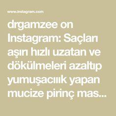 drgamzee on Instagram: Saçları aşırı hızlı uzatan ve dökülmeleri azaltıp yumuşacııık yapan mucize pirinç maskesi geldiiii🤓 Ben daha yeni başladım, güncelleme… Audio, Instagram