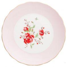 Room Seven Cakeplate Teastory Pink