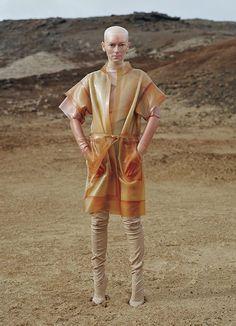 Tilda Swinton Looks Insane [Literally] in W, by Tim Walker   | StyleCaster