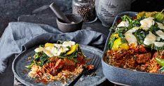 friends Magazin :: Schichtaufläufe Couscous, Ethnic Recipes, Friends, Food, Macaroni Casserole, Goulash, Souffle Dish, Lasagna, Ground Meat