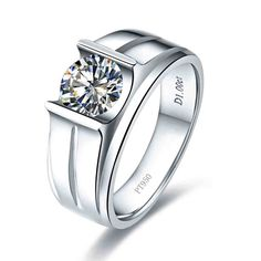 Where To Find Cheap Diamond Rings. Diamond rings are simply one of many many luxuries that may be afforded by folks with cash to burn, and lots of instances these rings can price hundreds of - Cheap Diamond Rings Expensive Engagement Rings, Engagement Rings For Men, Gemstone Engagement Rings, Titanium Wedding Rings, Diamond Wedding Rings, Wedding Bands, Diamond Rings, Wedding Albums, Mens Silver Rings