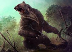 Ulvenwald Bear art by David Rapoza