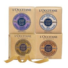 L'Occitane Shea Soap Quattro - Not your typical bar soap. I don't usually like bar soap but I do now