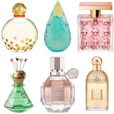Perfume- Twirl by Kate Spade | Tous H20 | Very Hollywood by Michael Kors | Happ & Stahns Parfum from Anthropologie | Flowerbomb by Viktor & Rolf | Aqua Allegoria by Guerlain