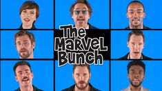 The core cast of 'Avengers: Infinity War' takes to 'The Tonight Show Starring Jimmy Fallon' to perform a Marvel-ized rendition of 'The Brady Bunch' theme song. Avengers Humor, Marvel Avengers, Marvel Jokes, Funny Marvel Memes, Avengers Cast, Dc Memes, Marvel Actors, Marvel Heroes, Loki Meme