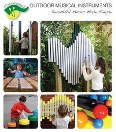 having musical instruments (student made or real) available for children to use at all times is important for their development...outdoors and in the classroom.