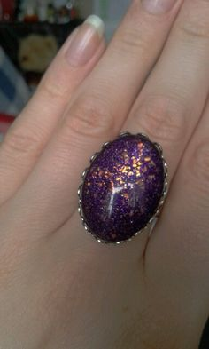 Handmade nail polish ring £4 www.facebook.com/IrisaJewellery