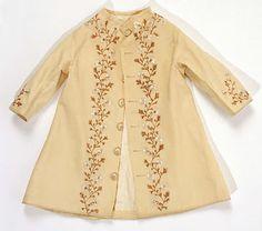 Coat ( for a child)  Date: ca. 1860 Culture: American Medium: wool, silk