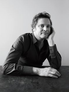Colin Firth. I love him. He is such a class act and reminds me so much of the way my father was