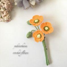 Crochet Earrings Pattern, Crochet Jewelry Patterns, Crochet Brooch, Embroidery Patterns, Crochet Small Flower, Crochet Flowers, Brooches Handmade, Handmade Flowers, Irish Crochet