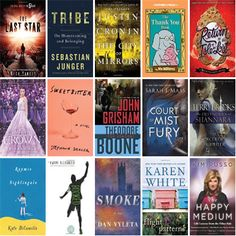 See what's new this week at the Muskegon Area District Library at:  *** http://wowbrary.org/nu.aspx?fb&p=5256-227 ***  There are 20 new bestsellers, one new video, 16 new audiobooks, one new music CD, 40 new children's books, and 54 other new books, including 16 that are available online.