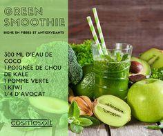 Le plus parfait des Green #Smoothies pour une cure détox (du foie plus spécialement) bien réussie ! ► Passez le tout au mixeur et dégustez ! ► Retrouvez nos #recettes minceur ICI