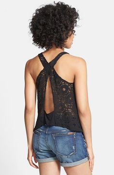 Nikki Rich Crossover Back Lace
