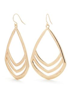 Red Camel® Open Teardrop Earring - Accessorize any look with this gold-tone open teardrop earring! It's sure to add a dash of shine to all of your favorite ensembles.