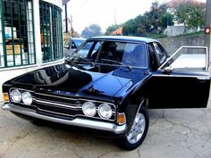 Can't get the Supernatural's Impala, guess this Ford Cortina is close… Ford Motor Company, Vintage Cars, Antique Cars, Supernatural Impala, Aussie Muscle Cars, Motorcycle Wheels, Cars Uk, Ford Classic Cars, Classic Motors