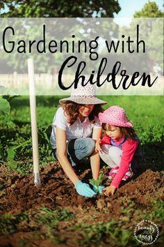 Gardening with Children: My First Garden