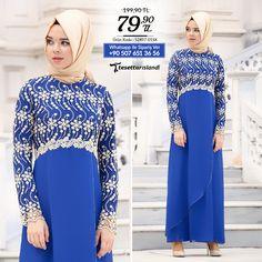 Nayla Collection - Dantel Detaylı Sax Mavisi Elbise #tesettur #tesetturabiye #tesetturgiyim #tesetturelbise #tesetturabiyeelbise #kapalıgiyim #kapalıabiyemodelleri #şıktesetturabiyeelbise #kışlıkgiyim #tunik #tesetturtunik