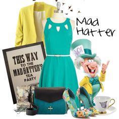 Mad Hatter - Spring - Disney's Alice in Wonderland by rubytyra