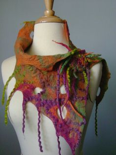 Felted Neck Warmer