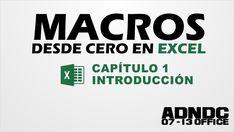 Macros Excel, Cap. 1 Introducción, para que sirve, nuestra primera Macro...