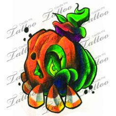 1000 images about horror tattoo designs on pinterest for Candy corn tattoo