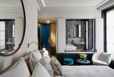 Le Roch Hotel And Spa is located in the middle of arr. Le Roch Hotel And Spa was opened in 2016 and … Paris Hotels, French Interior, Best Interior, Interior Styling, Le Roch Hotel, Spa Paris, Piscina Interior, Spa Hotel, Hotel Room Design
