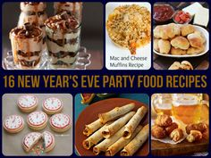 16 New Year's Eve Party Food Recipes