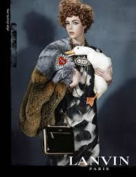 Lanvin Fall 2013 Model: Edie Campbell Photographer: Steven Meisel