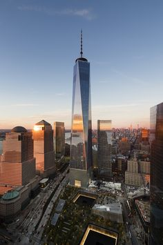 New York city Freedom Tower NY, USA