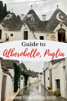 Alberobello, Puglia is one of Southern Italy's most unusual towns. 1500 cone-shaped homes known as the trulli dot the area, making it seem like a fairytale land. Here is our guide to this quirky, historical town which is a UNESCO World Heritage Site. European Destination, European Travel, Italy Travel Tips, Travel Europe, Travel Destinations, Travel Deals, Italy Spain, Places In Italy, Puglia Italy
