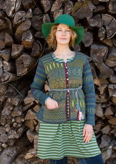 """""""Meadow"""" cardigan in eco-cotton – Bathroom – GUDRUN SJÖDÉN – Webshop, mail order and boutiques 
