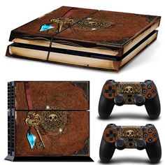 Video Games & Consoles Skin Sticker For Playstation 4 Ps4 Tuning Mapping Elaborated Pop Skin Naruto #03 Making Things Convenient For Customers Faceplates, Decals & Stickers