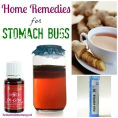 Home Remedies for Stomach Bugs